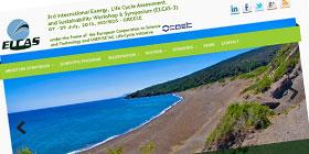 Κατασκευή ιστοσελίδας συνεδρίου Elcasnet για τη Βιώσιμη Ανάπτυξη